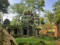 Ta Prohm with iPhone