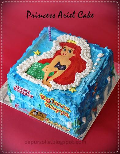 Princess Ariel Cake