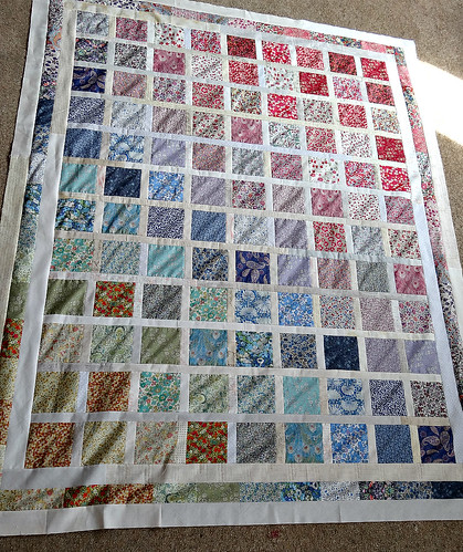 Jess's beautiful quilt top 2