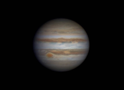 Jupiter (RG)RGB - 040314 - 18:50UTC by Mick Hyde