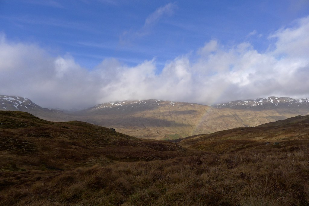 Rainbow over Glen Lochay