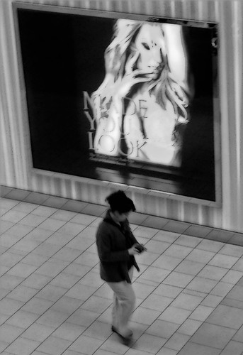 people blackandwhite mall store candid iphone5