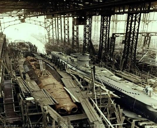 der Typ VII-U-Boote