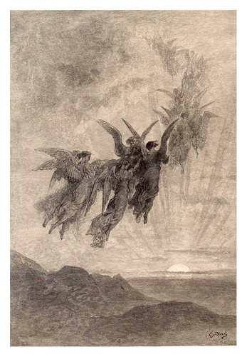 005-The Raven… Illustrated by Gustave Doré-1883-BNF-Gallica