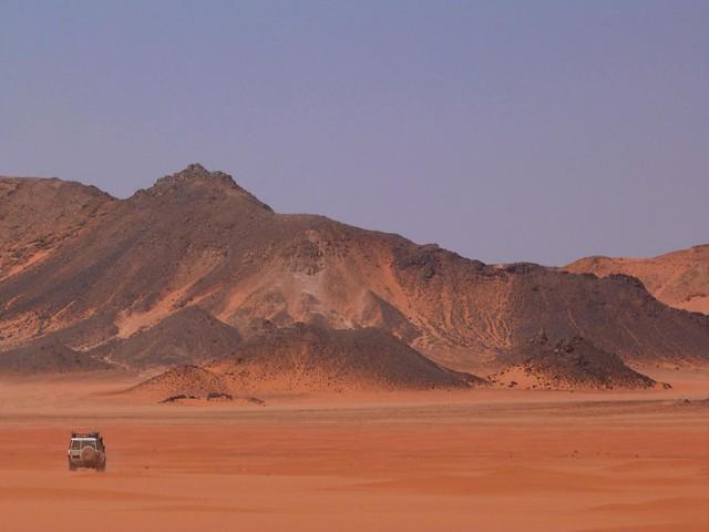 Meseta de Gilf Kebir (Desierto Líbico, Egipto)