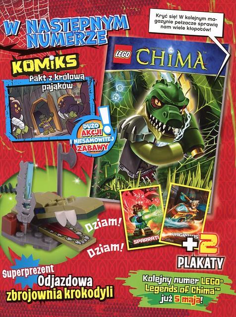 LEGO Legends of Chima Oficjalny Magazyn 2014-04 03