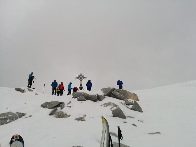 Gipfel Magerstein 3.273 m erreicht, endlich!