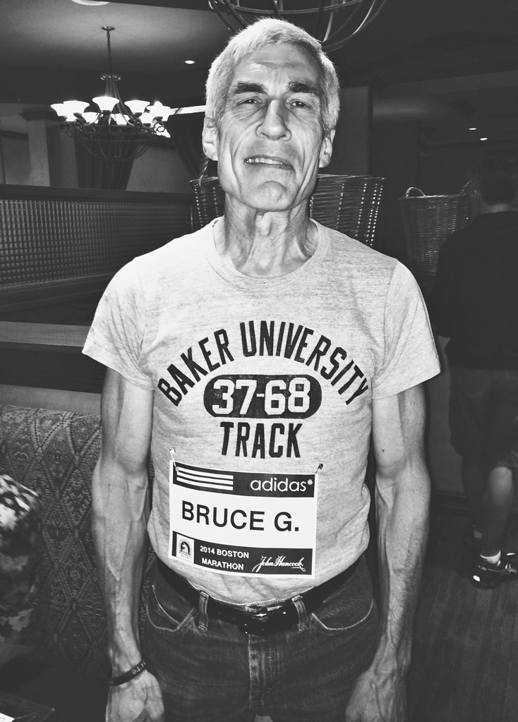 Bruce Gilbert Portrait - Kansas City Marathon Runner