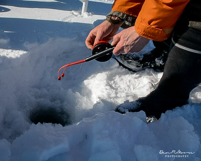 An Arctic Adventure in Swedish Lapland - Pocket Sized Ice Fishing Pole