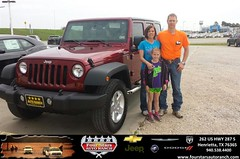 Congratulations to Denise Harris on your #Jeep #Wrangler Unlimited purchase from Tracey Frerich at Four Stars Auto Ranch! #NewCar