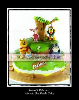 Norie's Kitchen - Winnie the Pooh Cake