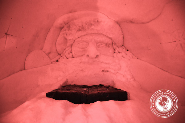 That Time We Slept In a Hotel Made of Snow – Our Experience at the Snow Village, Finland - Snow Village Finland Santa Claus Ice Suite