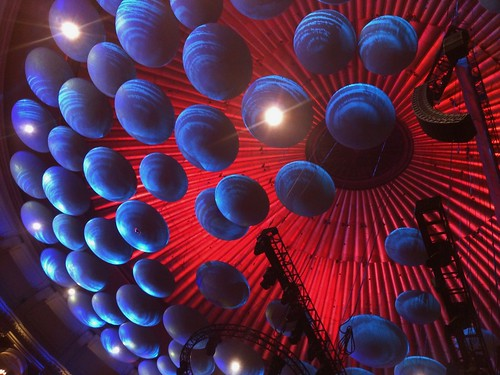 The ceiling in the Royal Albert Hall