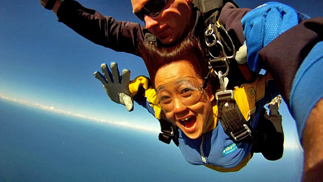 SKYDIVING IS SO FUN!!!