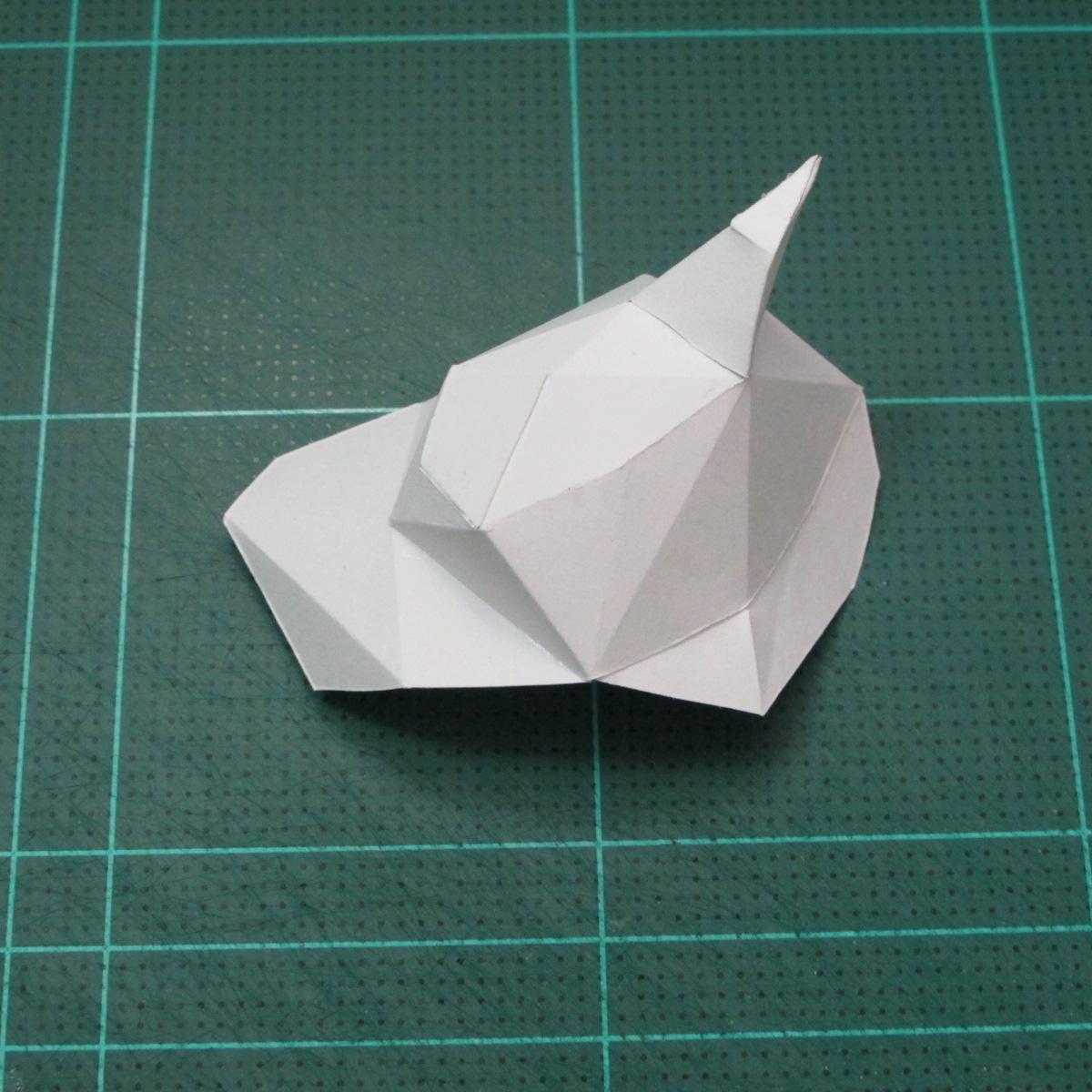 วิธีทำโมเดลกระดาษคุกกี้รสคุกกี้แอนด์ครีม  (Cookie Run Cream Cookie Papercraft Model) 004