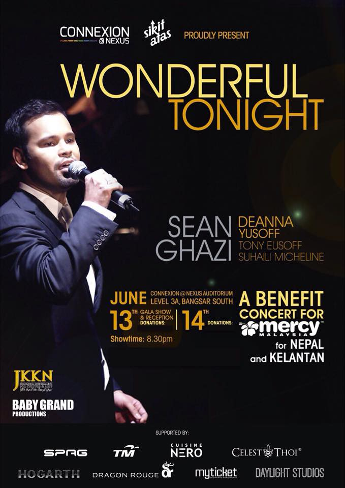 WONDERFUL TONIGHT' - Charity Concert