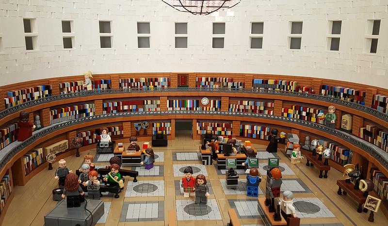 Biblioteca di Stoccolma - Stockholm Public Library: Interior
