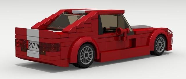 Dodge Viper GTS (rear view)