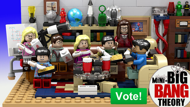 Review : #010 LEGO IDEAS - 21302 The Big Bang Theory 19445862918_c8c1cca1a5_z