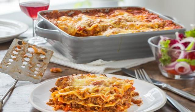 Platz 9: Lasagne
