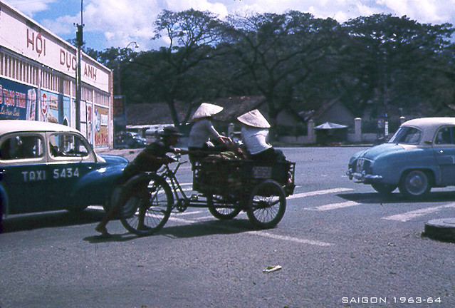 SAIGON 1963-64 - Photo by Jack 'CJ' Waer