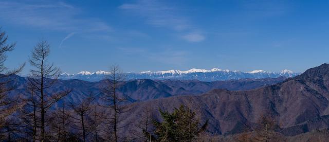 南アルプスパノラマ@七ツ石山