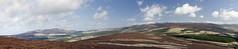 ben rinnes and corryhabble hill from glen livet