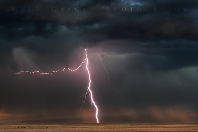 Storm Over The Plains