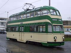 Blackpool Tramway Balloon 717 at Pleasure Beach (27/05/2013)