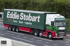 Volvo FH 6x2 Tractor - PX11 BWP - Tracy - Eddie Stobart - M1 J10 Luton - Steven Gray - IMG_9851