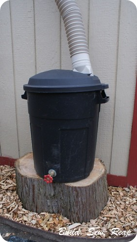 Rain Barrel Support