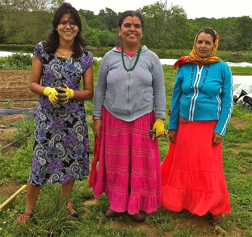 Bhutanese women farmers in Philly