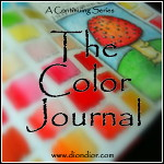 The Color Journal Button