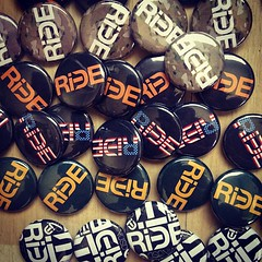 Buttons Baby!!! Available at #SuBZEROfestival tonight and in store.