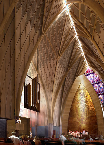 Christchurch Cathedral option 3 interior