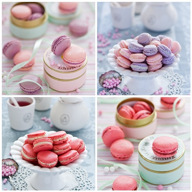 Macarons by The Little Squirrel