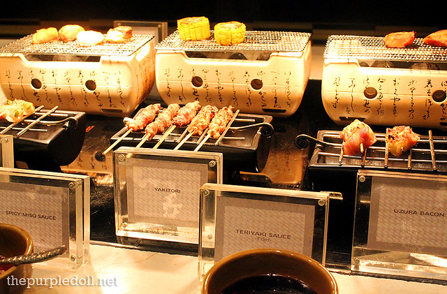 Japanese Yakitori at Spiral Sofitel