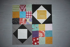 July Queen block - NewbeeBee - from Christine