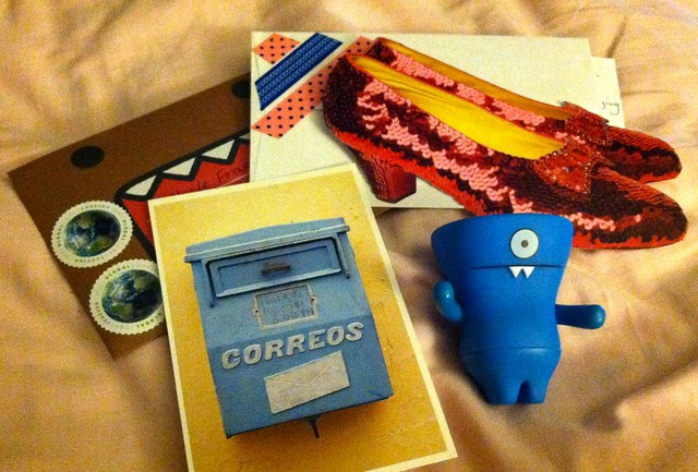 Domo, Ruby Slippers, and a Mail Box