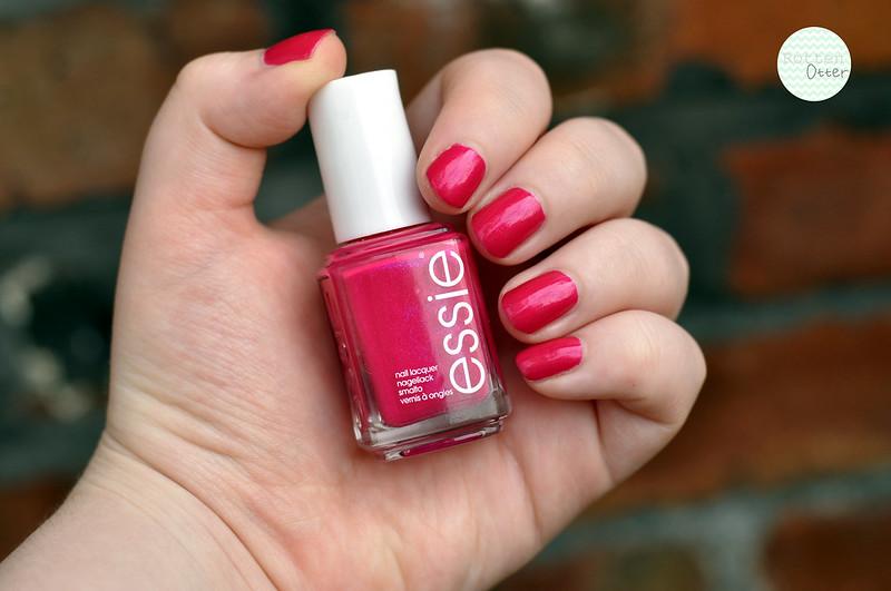 notd essie super bosa nova nail polish rottenotter rotten otter blog 2
