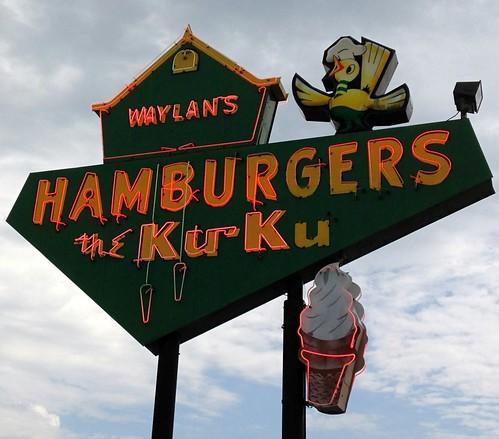 Waylan's Ku-Ku Hamburger, Route 66, Miami, Oklahoma