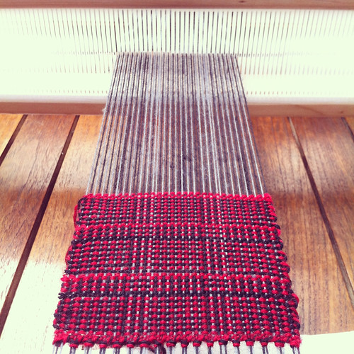 Weaving project 31: Panel 6