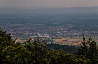 Visite du Château du Haut Koenigsbourg - Panorama sur Selestat