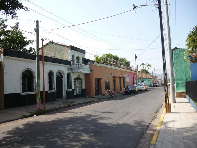 Street of Santa Ana, El Salvador