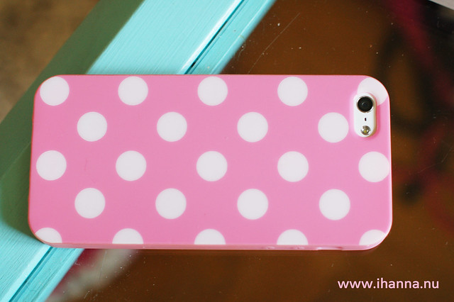 My iPhone is Polka Dotted