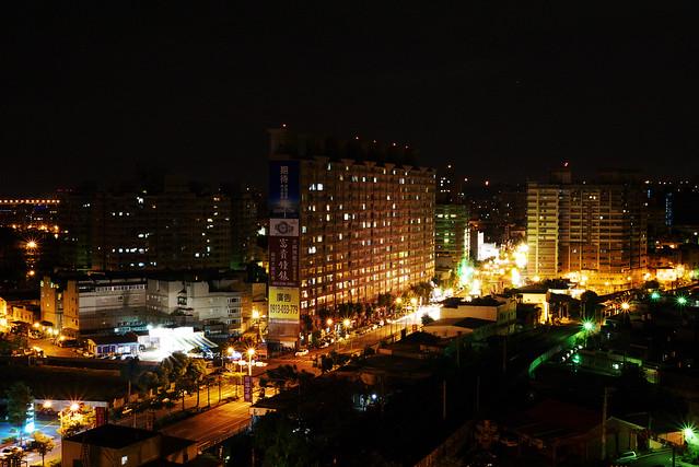 Night Scene of the City
