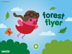 Sago Mini Forest Flyer Title Screen