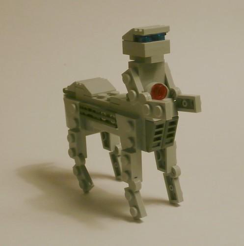 M.O. Round 1  Sagittarius... Umm, robot?