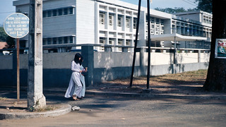 Đường Pasteur - Saigon 1966/68 - Photo by John Rellis