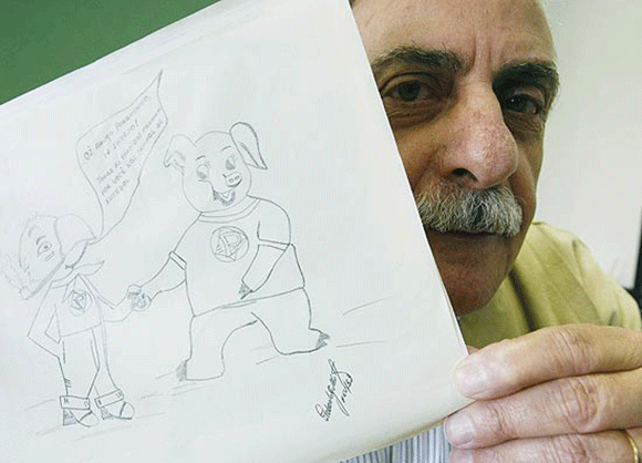 Diretor de marketing do Palmeiras Sr. João Roberto Gobbato